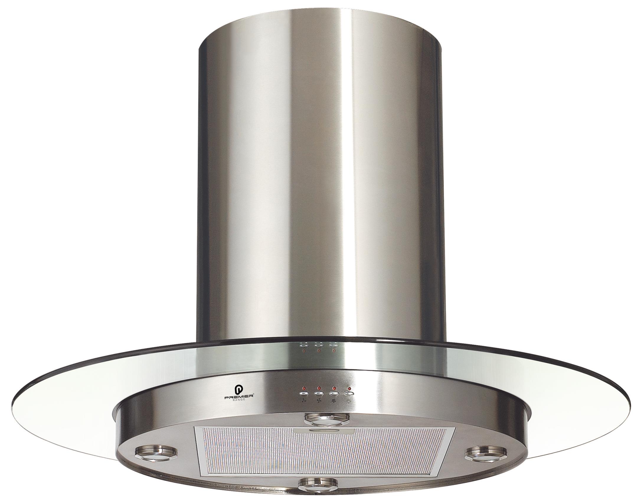Round Chimneys With Hoods ~ Round island chimney latest smoke glass cooker hood cm