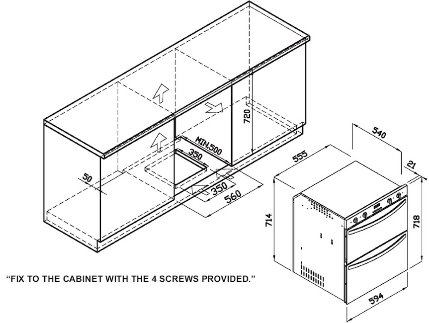 range oven  oven range sizes