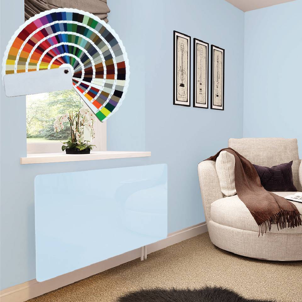 Premier Bespoke Colour Glass Radiator Covers