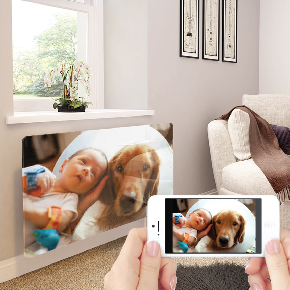 Premier Print Your Own Image Glass Radiator Covers