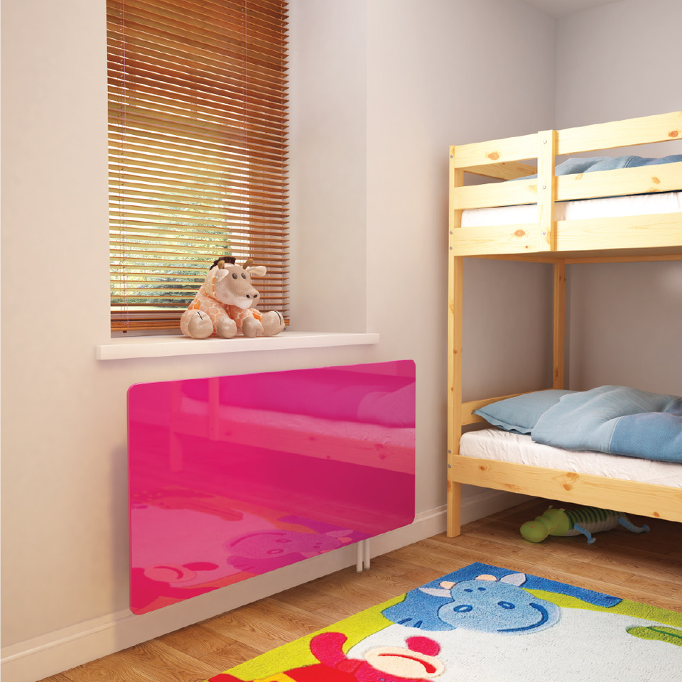 Premier Coloured Glass Radiator Covers