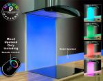 Remote Control Glass Led Lighting Mood Splashback Upstand