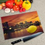 Glass Chopping Board - Printed Digital Images