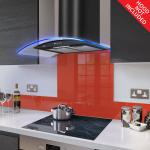 Fitted Lipstick Red Glass Splashback for DC73.6M - 60cm Wide x 75cm High