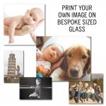 Glass Table Runner - Printed With Your Own Image - Made To Measure