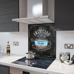 Americano Coffee - Glass Splashback - 80cm Wide x 80cm High