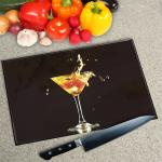 Digital Print Worktop Saver Chopping Board - Margarita