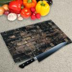 Glass Chopping Board - In Stone And Granite Effect