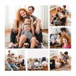 Made To Measure Photo Collage Wall Art 60cm Wide by 60cm High