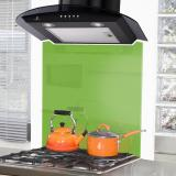 DC77 Cooker Hood with fitted Spalshback