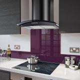 DC73 Cooker Hoods with Fitted Colour Splashbacks