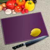 Solid Colour Glass Chopping Boards