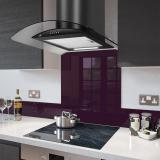 PRX Cooker Hoods with Fitted Colour Splashbacks