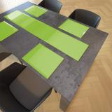 Toughened Glass Colour Table Runners 80cm x 30cm