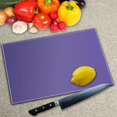 Glass Chopping Board - In Bespoke Colours