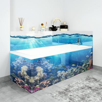 2 Piece Adjustable Printed Acrylic Bath Panels