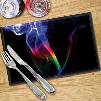 Glass Place Mats x 4 - Printed Digital Images