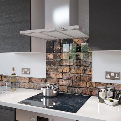 Glass Upstand - In Stone And Granite Effect - Made To Measure