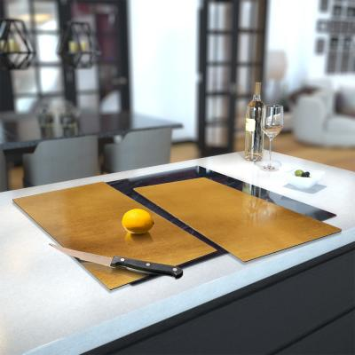 Glass Hob Cover / Chopping Board in Digital Print