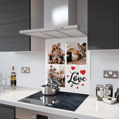 Glass Splashback - Photo Collage - Made To Measure