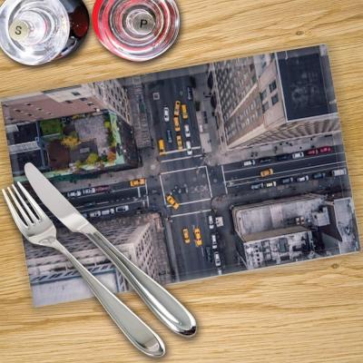 Glass Place Mats x 4 - Printed With Shutterstock Images