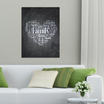 Made To Measure Wall Art Word Collage
