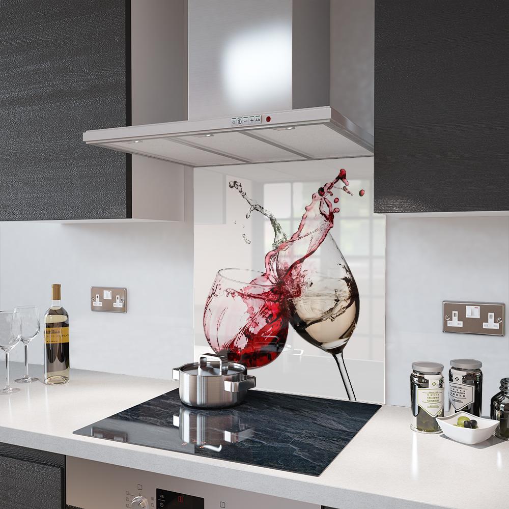 Splashback White Kitchen Splashback Home Furniture Diy Ebay