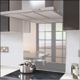 Mirror splashback.